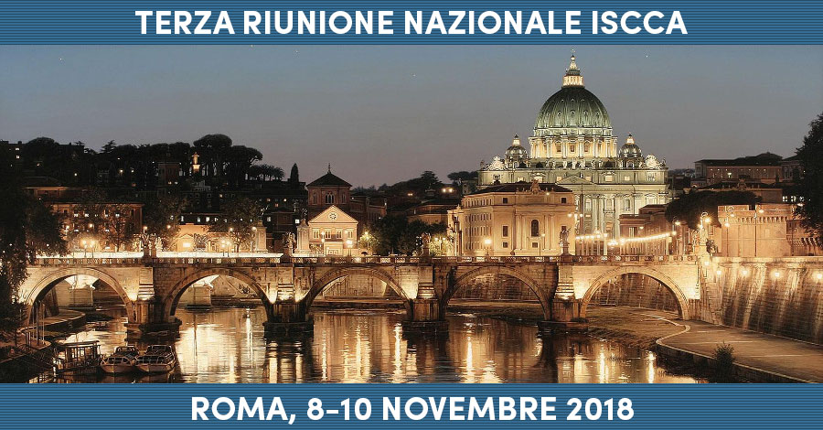 ISCCA Meeting - Roma, 8-10 Novembre 2018